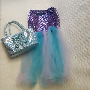 Mermaid skirt  with bag included 🧜♀️😊💙